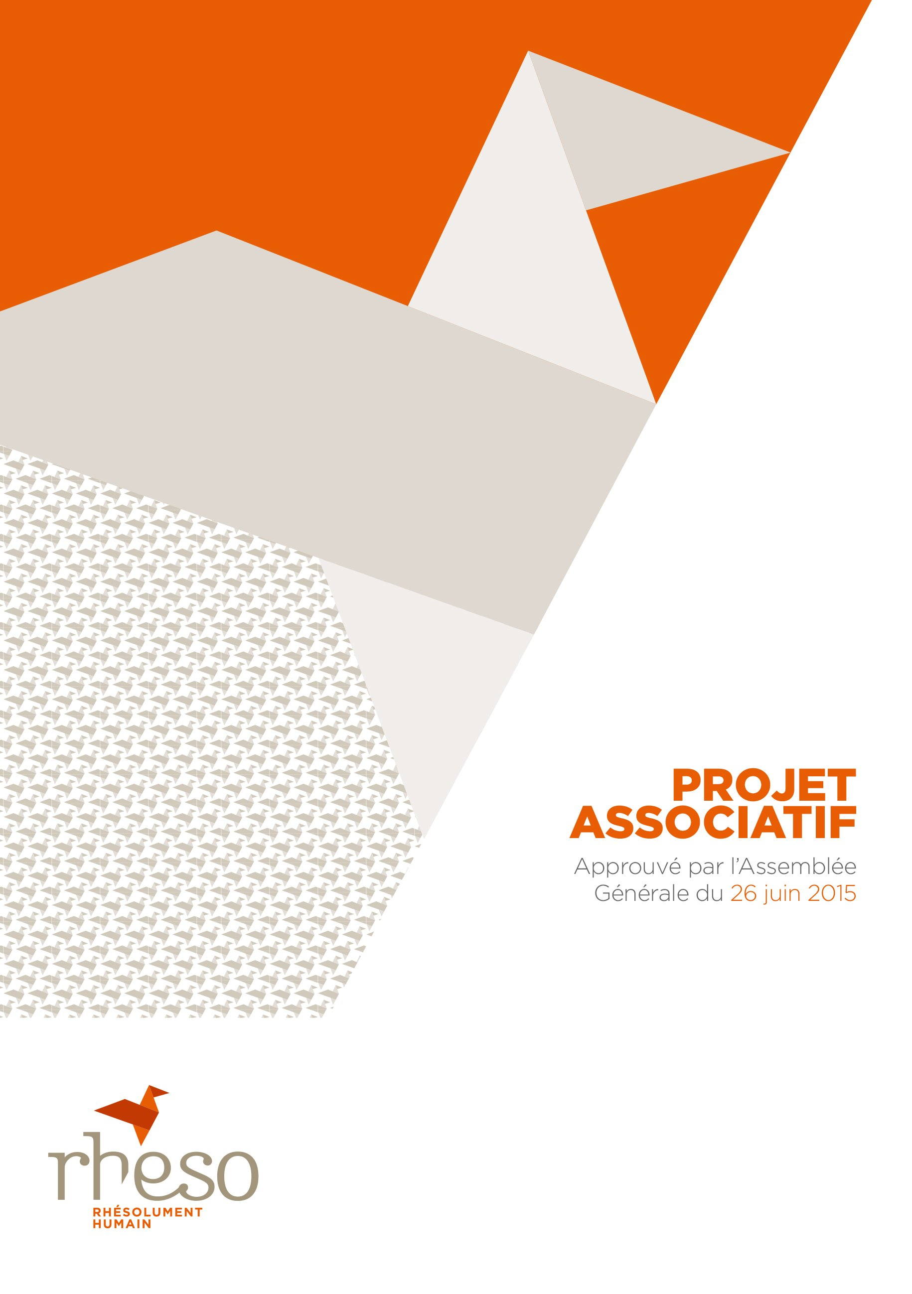 Association Rheso, projet associatif 2015